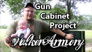 New Gun Cabinet Project