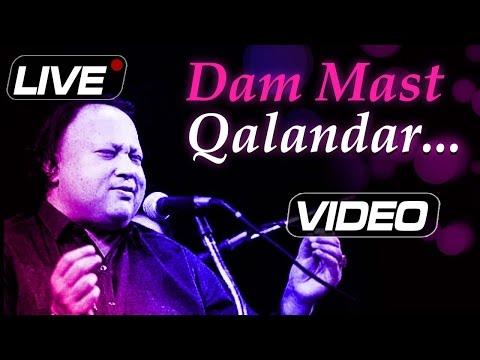 Dam Mast Qalandar Mast Mast - Nusrat Fateh Ali Khan Live | Top Pakistani Qawwali Songs