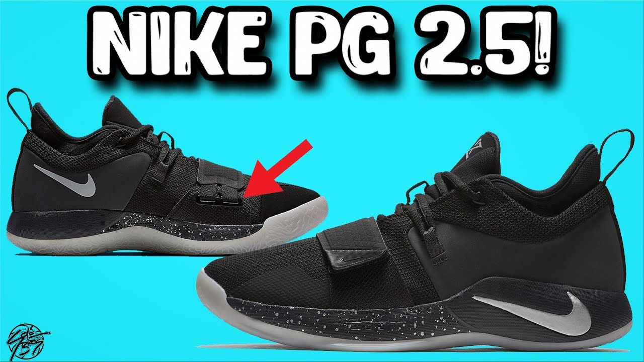 Nike PG 2.5 Initial Thoughts! They added one Strap to the PG2
