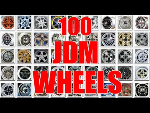 TOP 100 BEST JDM WHEELS