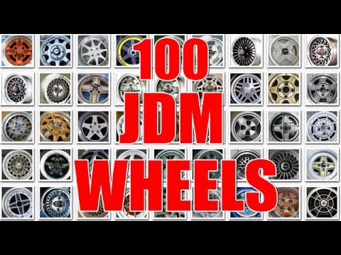 TOP 100 BEST JDM WHEELS