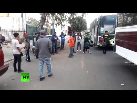 RT en Español: Refugio de migrantes en Tijuana, México