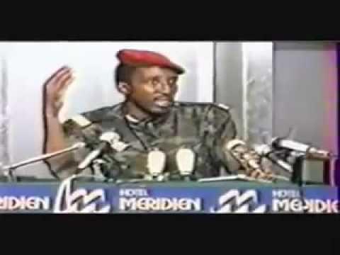 Thomas Sankara - Conference de Paris en 1984 (AMTv - AFRIQUE)