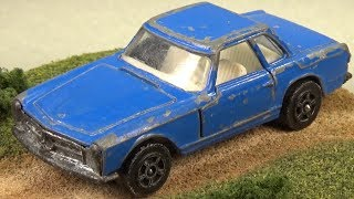 Die-Cast Restoration: Corgi Juniors Mercedes-Benz 280 SL