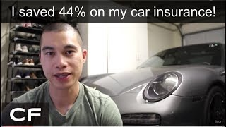 How to Save Money on Your Car Insurance (Progressive vs Geico vs USAA)
