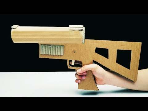 How to Make Grenade Launcher From Cardboard