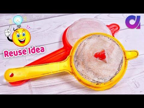 Best use of waste Strainer craft ideas | Strainer Crafts | DIY | Artkala 465
