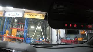 쉐보레 카마로 차량의 듀얼 레드타입 하이패스룸미러를 설…