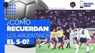 5-0 Colombia vs Argentina: así lo recuerdan los hinchas vencidos | Copa América 2019|  El Espectador