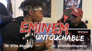 Eminem - Untouchable (Audio) - REACTION