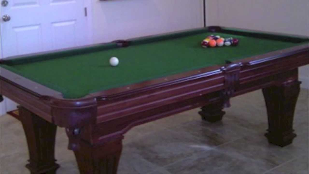 New & Used Pool Tables For Sale From Antique Brunswick and ...