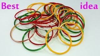 Diy old bangles reuse idea  DI…