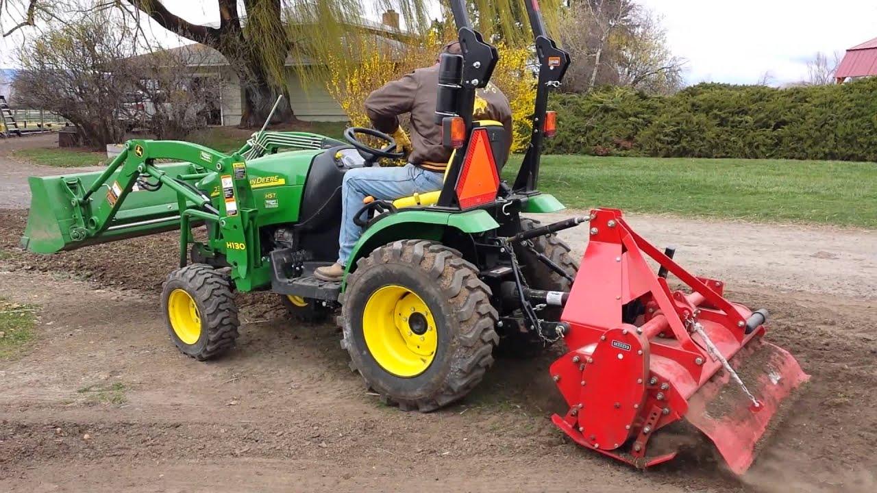 Garden Tractor Rotary Tiller Garden Ftempo