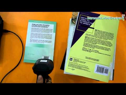 Understand about ISBN 13 barcode font used for books and magazines