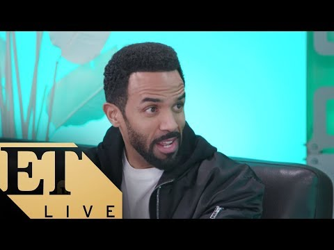 ET LIVE with Craig David Talking About HIs New Album 'The Time Is Now'