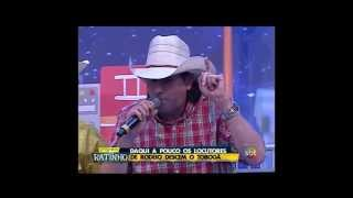 Locutor Asa Branca no Programa do Ratinho