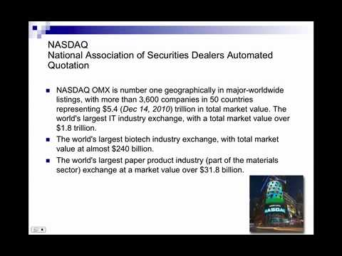 Securities, Exchanges and Indexes   Wi Fi