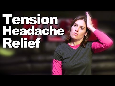 Tension Headache Relief with Simple Stretches - Ask Doctor Jo