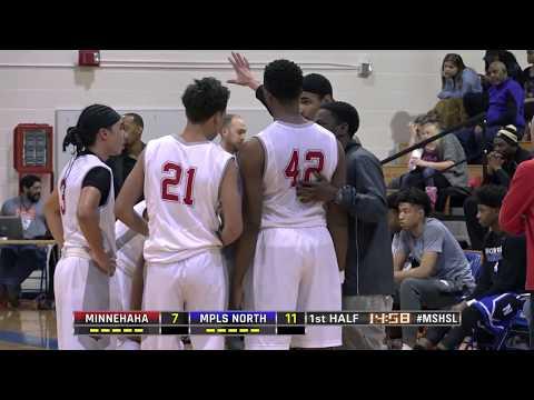 High School Boys Basketball: Minnehaha Academy vs. Minneapolis North