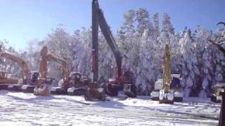 Hitachi 450 Long Boom Excavator