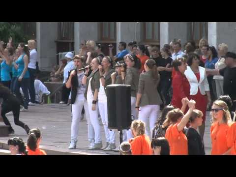 17.05.2013 - проведена онлайн трансляция Парада танца Квадриль для Книги рекордов Гиннесса