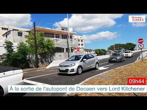 Autopont de Decaen : la circulation encore plus stagnante !
