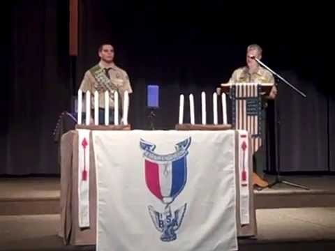 My Eagle Scout Court of Honor Presentation/Slide Show Video