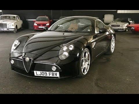 Alfa Romeo 8C Competizione drive review