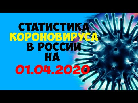 Статистика Короновируса в РОССИИ и Мире на 01 04 2020 года