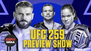 UFC 259 Preview Show | Ariel & The Bad Guy Live | ESPN MMA