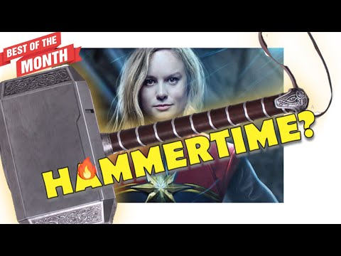 """WTF? BRIE LARSON CLAIMS CAPTAIN MARVEL COULD """"DEFINITELY"""" LIFT THOR'S HAMMER?"""