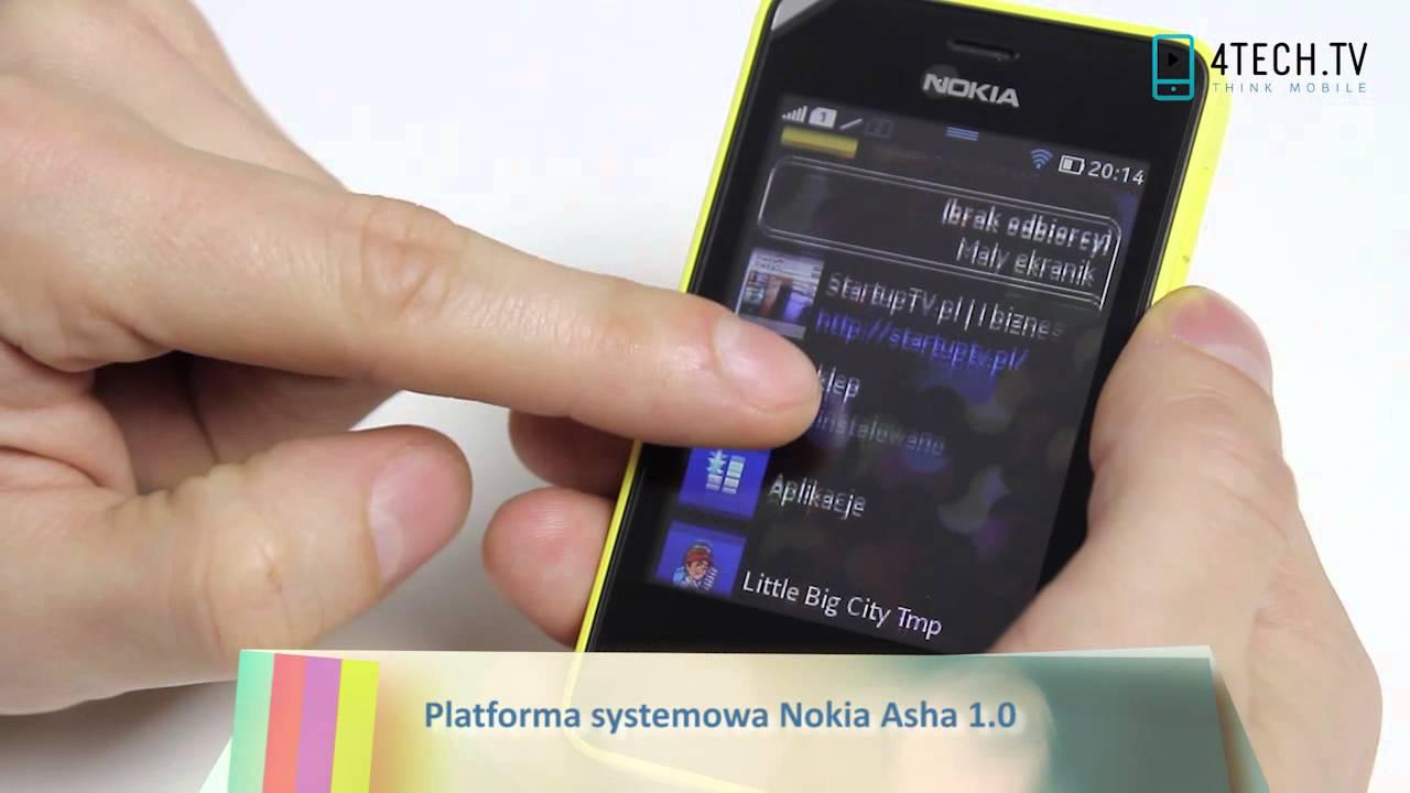 Nokia Asha 501 Dual SIM - test wideorecenzja telefonu - YouTube
