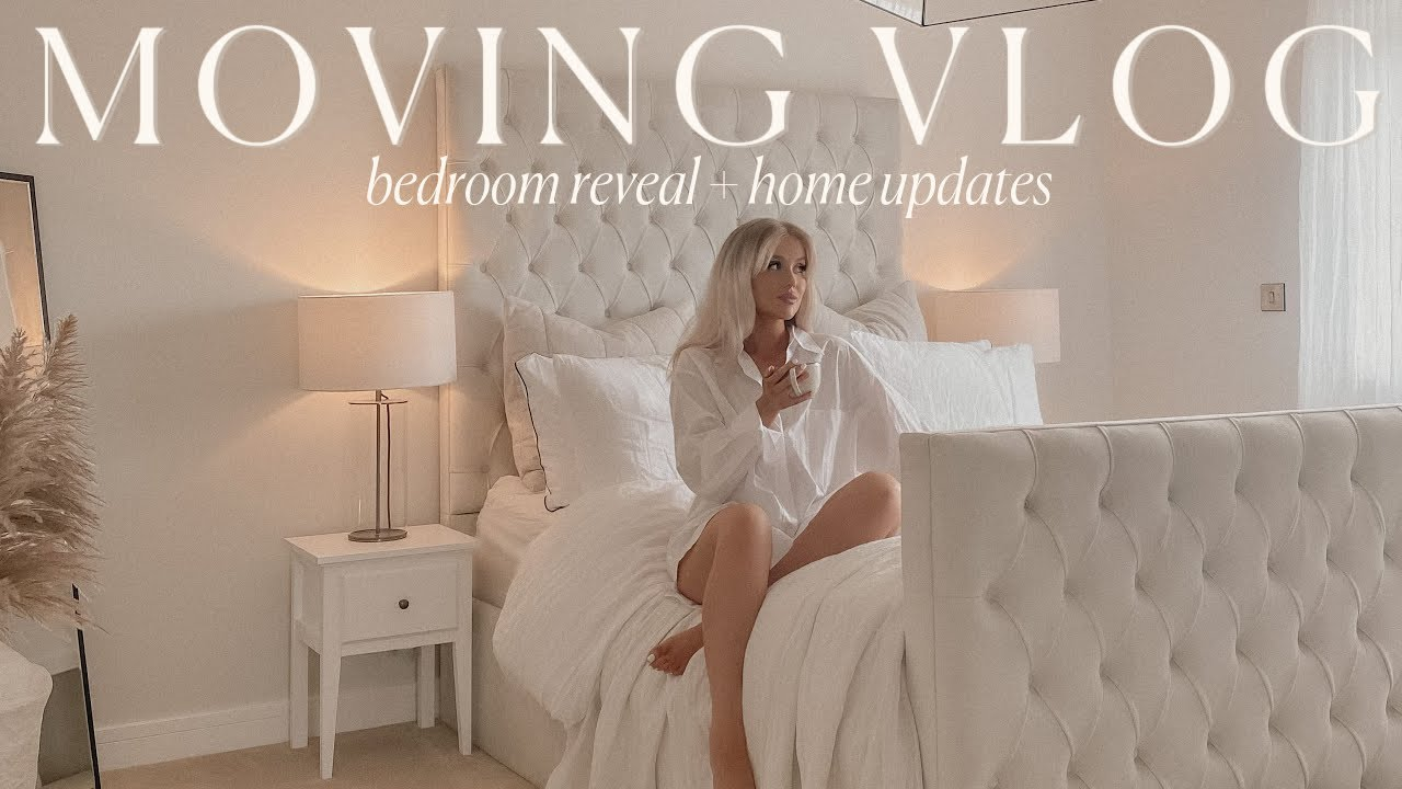 MOVING VLOG #5 | master bedroom reveal, home updates + a cosy bbq night!