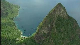 Sainte Lucie : Les Deux Pitons