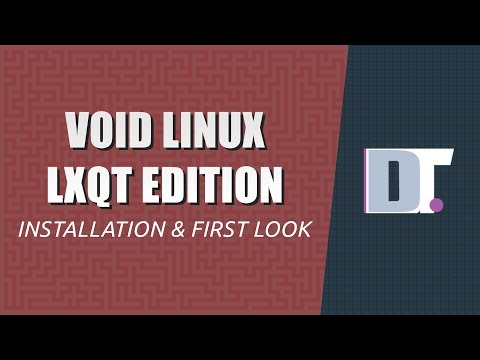 Installing Void Linux And Taking A Quick Look Around