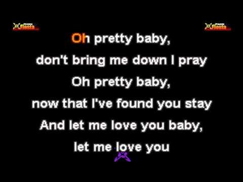 Gloria Gaynor - Can't take my eyes off of you KARAOKE