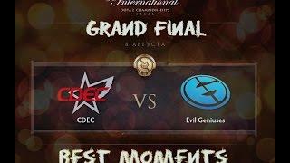 Grand Final EG vs CDEC International 2015 Лучшие моменты Dota 2