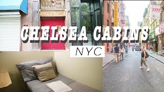 NEW YORK CITY HOSTEL REVIEW I CHELSEA CABINS NYC