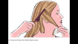 Evde Saç Boyama Nasıl Yapılır