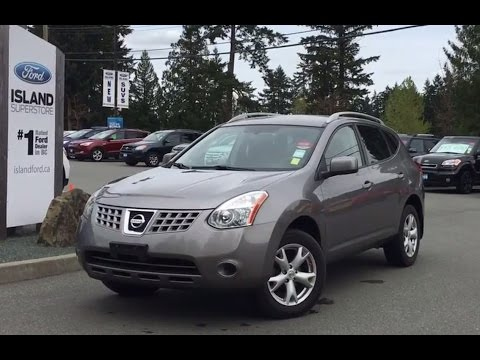 2008 nissan rogue sl awd + heated seats review |island ford - youtube