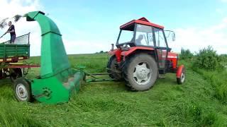Koszenie trawy na kiszonkę ►Ursus3512 & Orkan◄