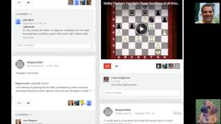 Follow Kingscrusher at www.google.com/+kingscrusher to help discuss future chess videos etc
