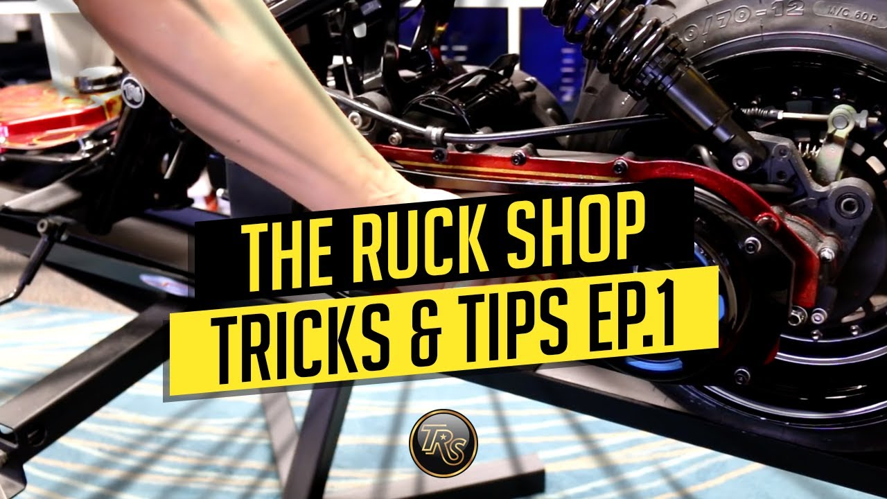 TRS GY6 TRICKS AND TIPS EP 1