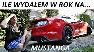 ILE WYDAŁEM W ROK na leasing Mustanga? Ooops!  V8 VLog