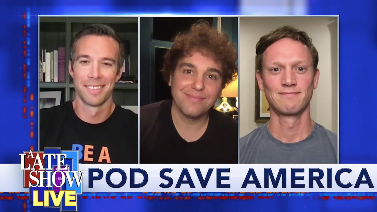 Pod Save America The Rnc S Message Of Fear Is In Opposition To The Dnc S Message Of Hope Youtube