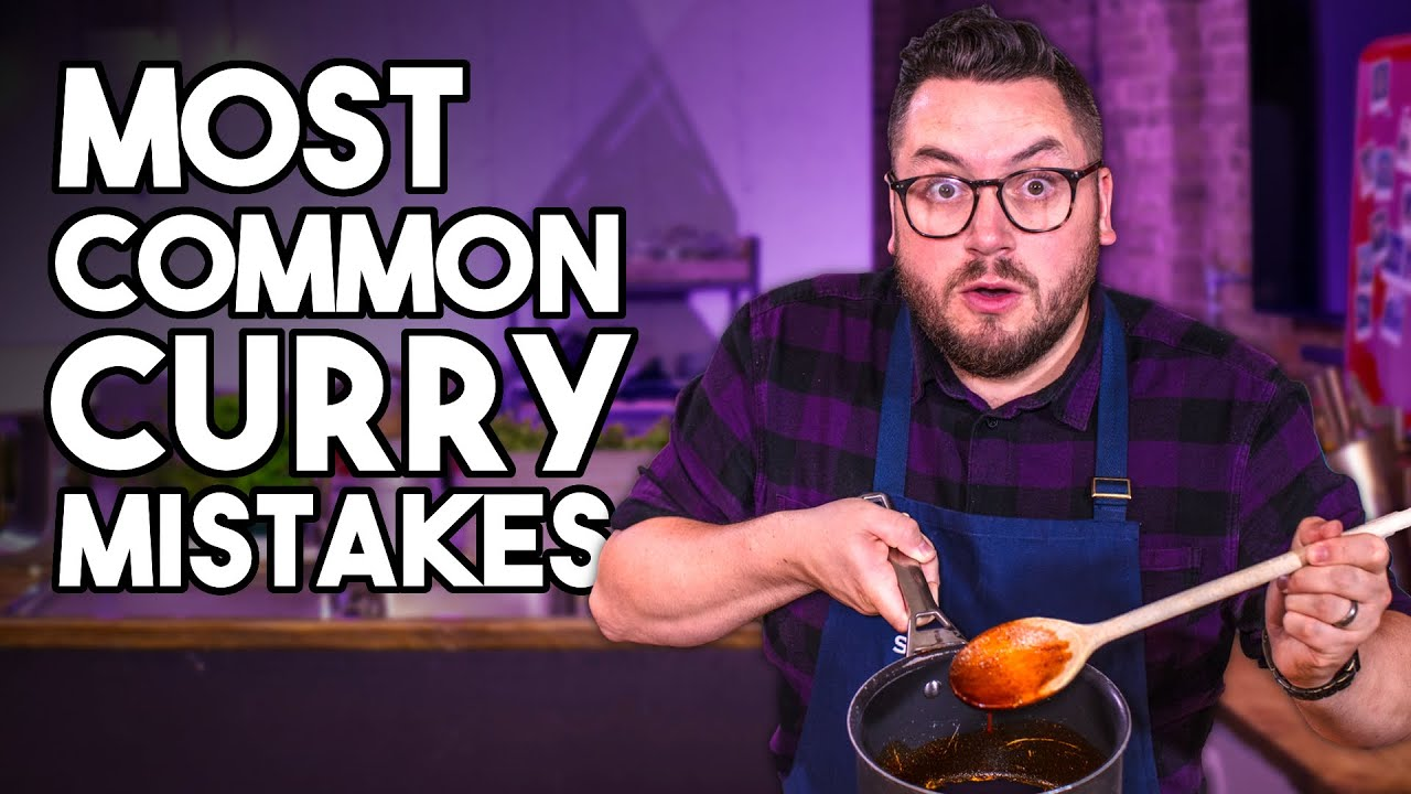 The MOST COMMON Mistakes when Making a Curry (ft. Karan Gokani from Hoppers Restaurant) | SORTEDfood