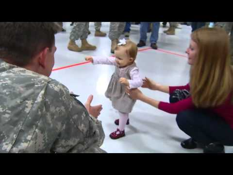 Final Wisconsin National Guard Members Come Home From Iraq
