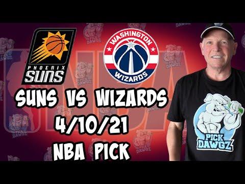 Phoenix Suns vs Washington Wizards 4/10/21 Free NBA Pick and Prediction NBA Betting Tips