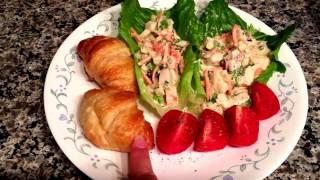 Imitation Crab Salad Tutorial