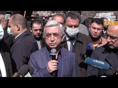Տեսանյութ.Ես կարող եմ հանուն Հայաստանի ժողովրդի, հայ ժողովրդի զիջել մի ողջ իշխանություն, բայցերբեք չեմ լքի խրամատը